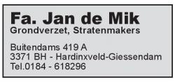Fa Jan de Mik